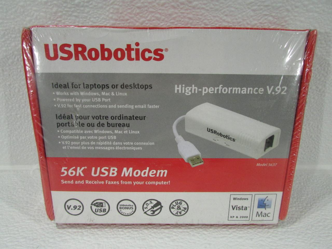 U.S.ROBOTICS USB FAXMODEM DRIVER 56K TÉLÉCHARGER