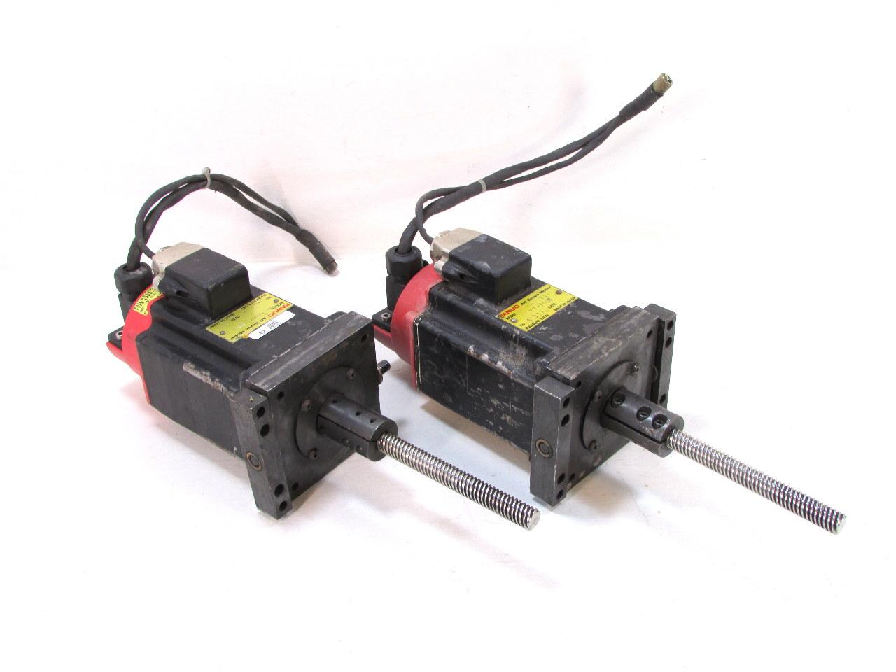 Qty 1 Fanuc A06b 0371 B577 7008 Ac Servo Motor Premier Equipment Solutions Inc