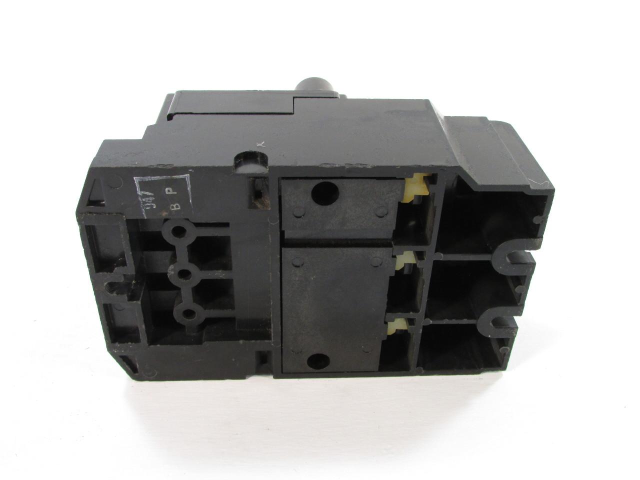 Square D 2510 Mb0 2 Push Button Manual Motor Starter
