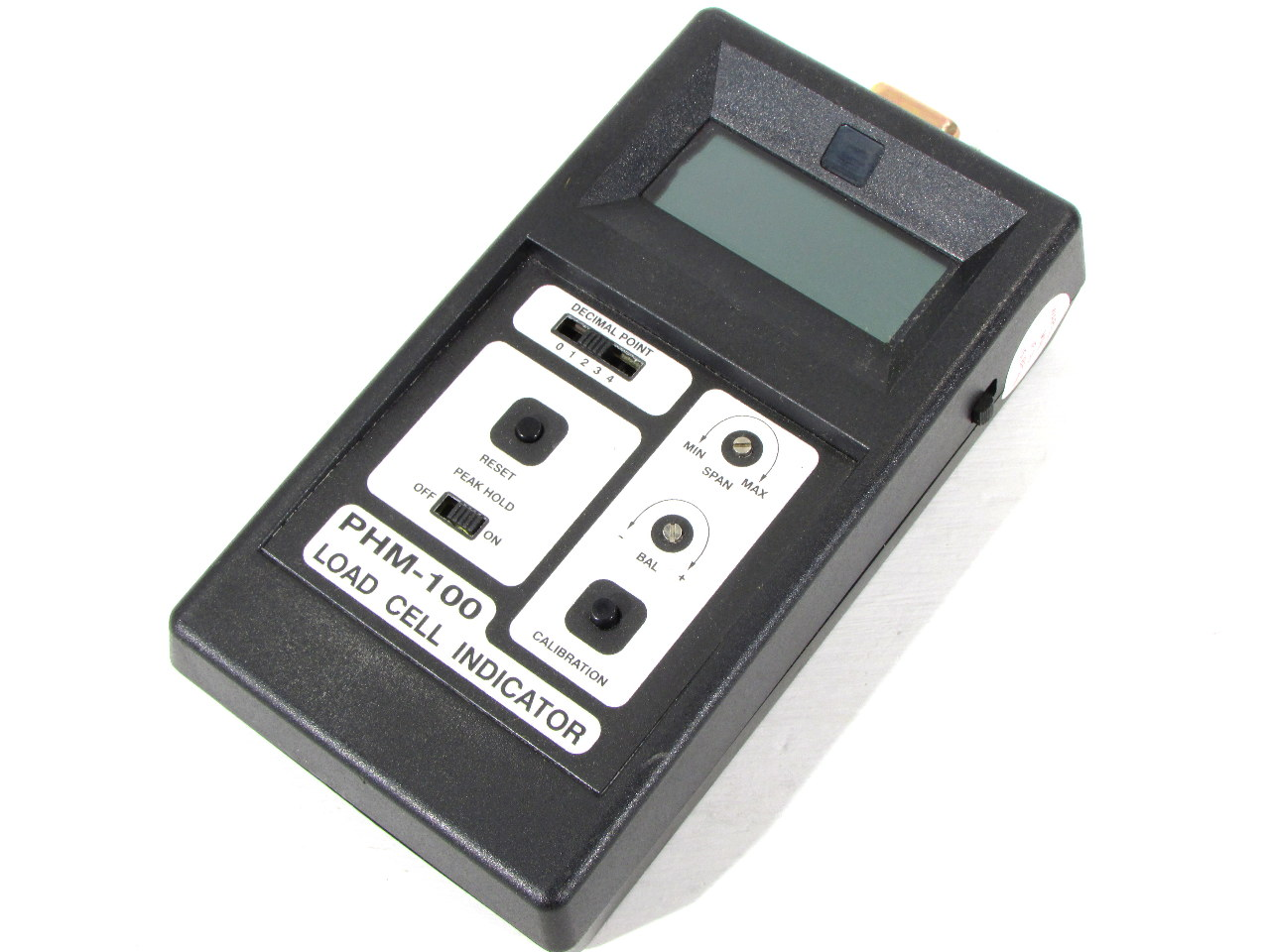 Load Cell Indicators : Transducer techniques phm load cell indicator