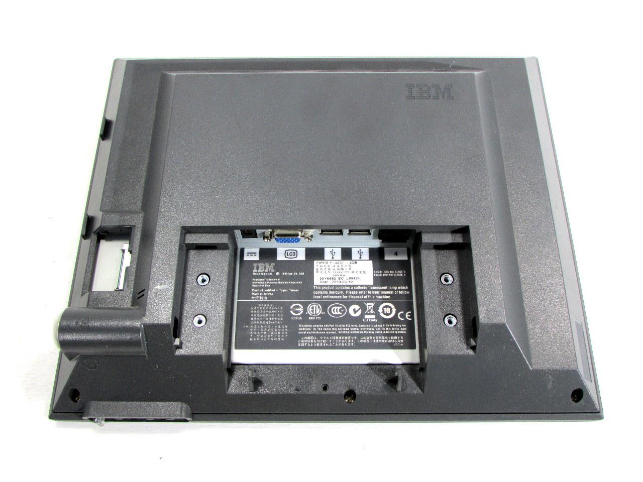 ibm 4820 2gb pos touch screen monitor premier equipment