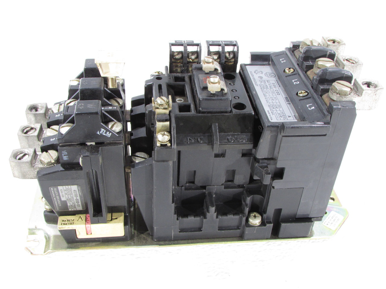 Allen Bradley 509 Cod Size 2 Motor Starter Coil 115 120