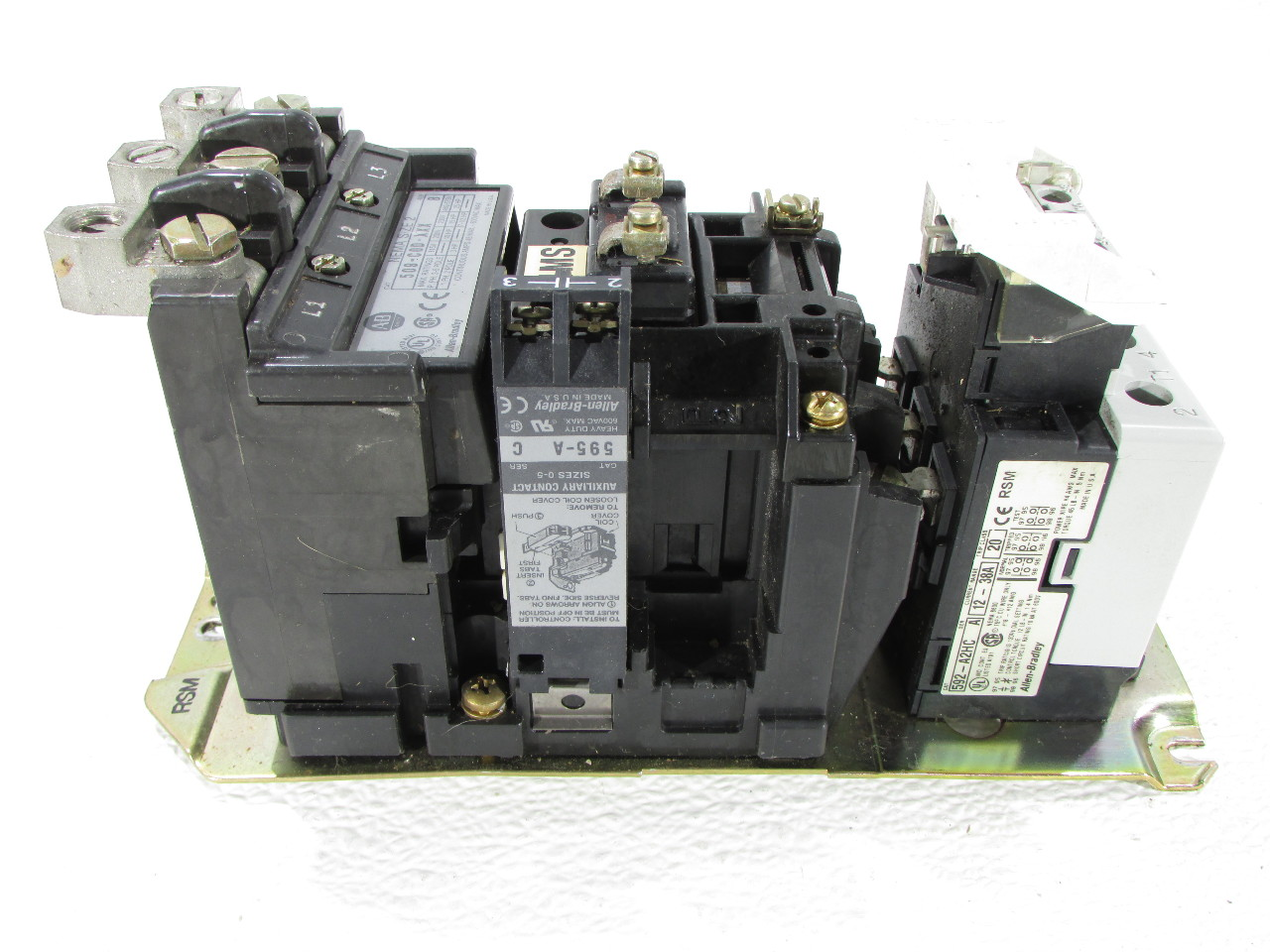 Allen Bradley 509 Cod Xxx Starter Full Voltage Size 2