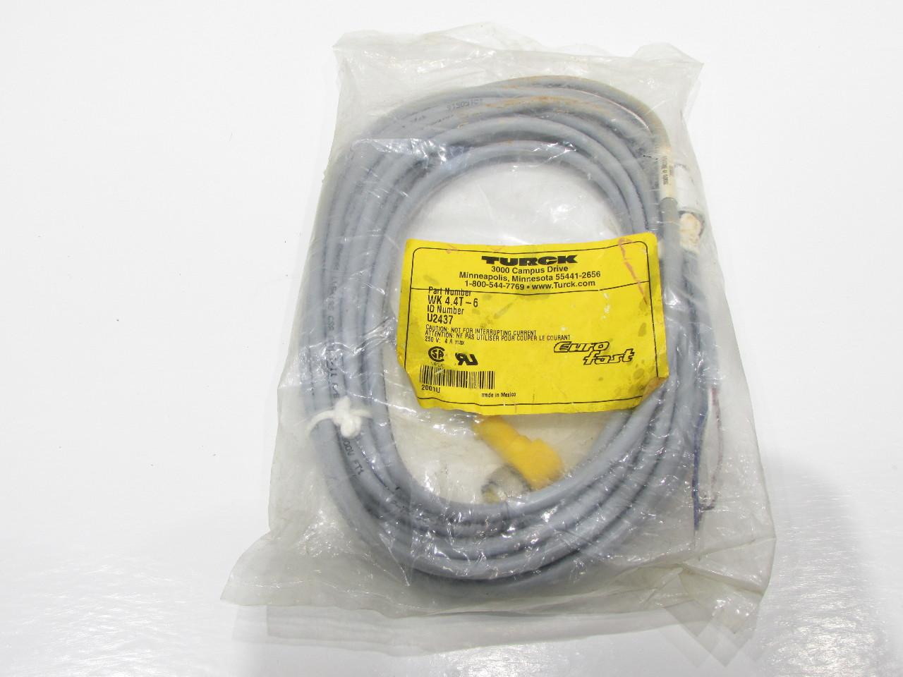 new turck elektronik wk 4 4t 6 u2437 cable cordset right reversing contactor reversing contactor reversing contactor reversing contactor