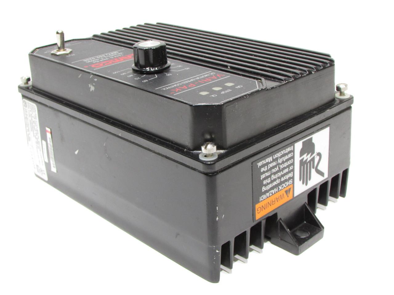 Camco Kb Electroinics 92a61633020000 Vari Pak Dc Motor