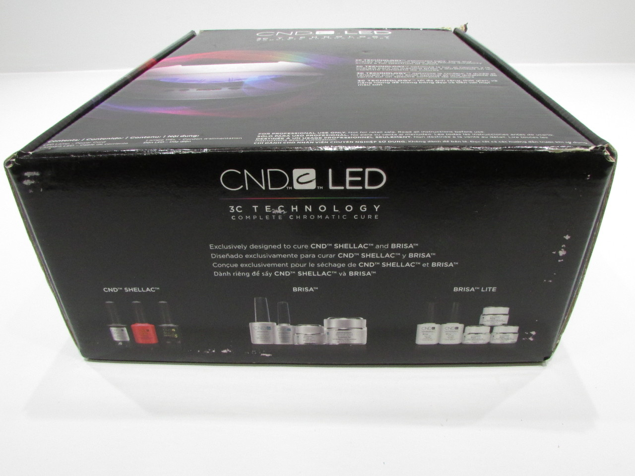 ... NEW CND LED LAMP 3C TECHNOLOGY COMPLETE CHROMATIC CURE ...