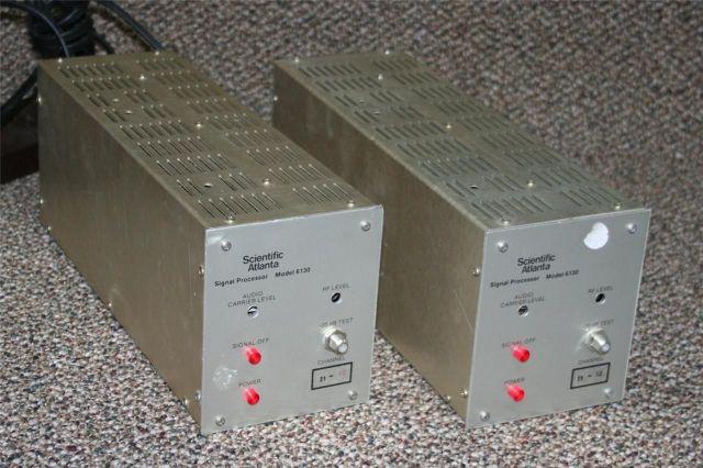 Scientific Atlanta 6130 Signal Processor Lot of 2