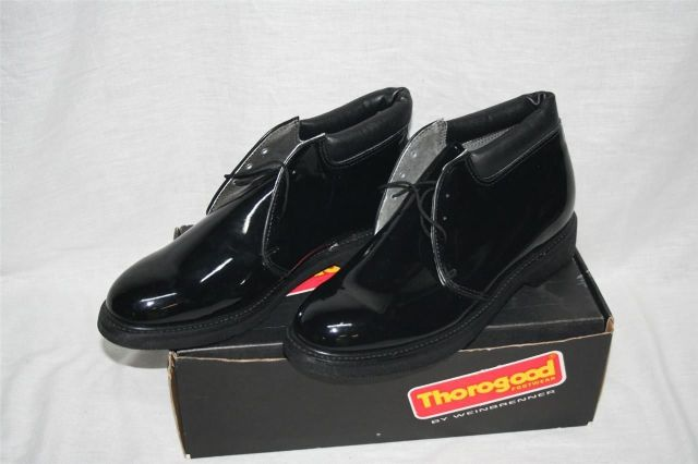 ~ Thorogood by Weinbrenner Patent Leather Dress Chukka 500-4095 Size 9.5 W New