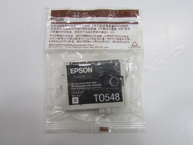 NEW - EPSON T0548 ULTRA CHROME MATTE BLACK INK CARTRIDGE