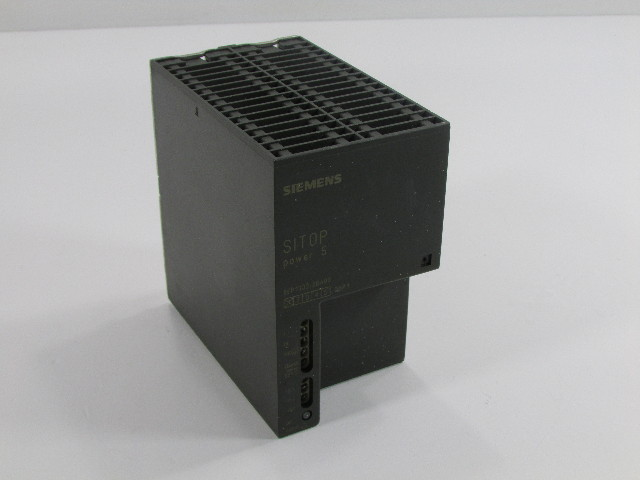 SIEMENS SITOP POWER 5 POWER SUPPLY 6EP1333-2BA00 OUTPUT DC 24V/5A