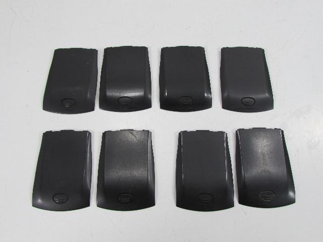 LOT OF 8 BLACKBERRY BATTERY DOOR BACK COVERS