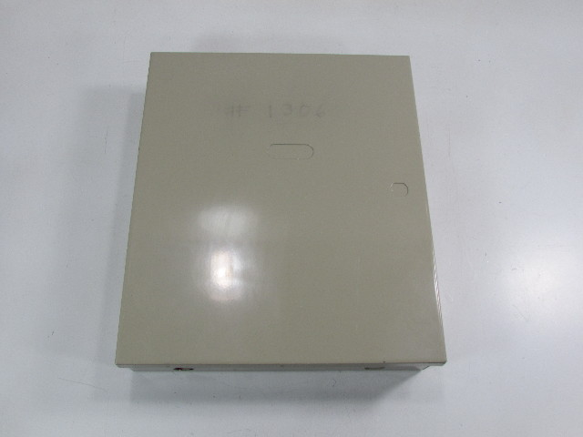 ADEMCO HOUSEHOLD FIRE & BURGLARY WARNING SYSTEM CONTROL UNIT ENCLOSURE AF-567 RES-UL S1632