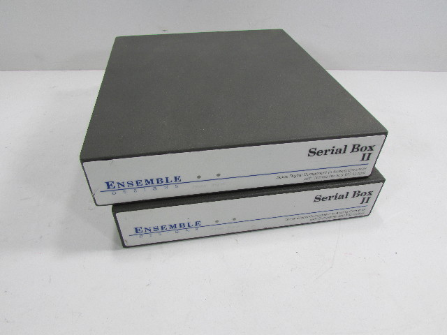LOT OF 2 - ENSEMBLE SERIAL BOX II