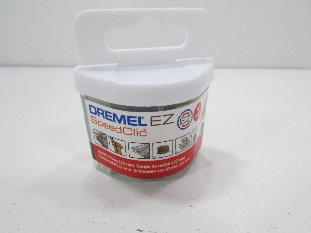 NEW Dremel SC456 S456 EZ SpeedClic Metal Cutting Wheels 12-Pack