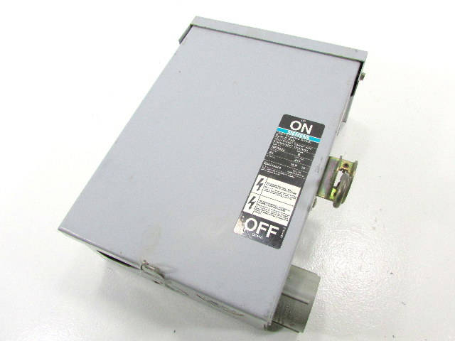 * SIEMENS ITE NFR322 DISCONNECT SWITCH 60AMP 2POLE 240VAC