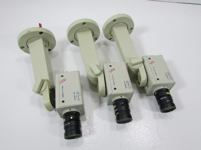 LOT OF 3 GOLDEN EYE B/W CCD CAMERA GS-1001CC