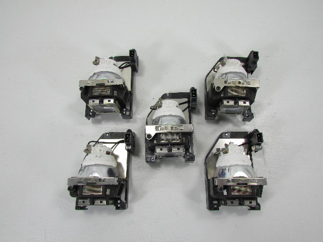 LOT OF (5) USHI0 LAMP FOR BENQ LCD PROJECTOR