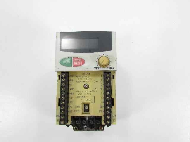 MITSUBISHI  FR-E520-0.4K INVERTER