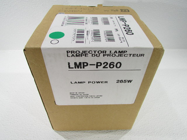 SONY LMP-P260 265W PROJECTOR LAMP 1789 HOURS