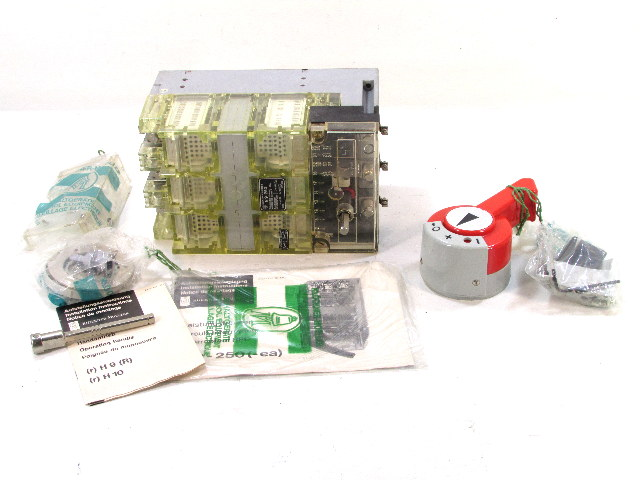 `` KLOCKNER MOELLER N9-250 DISCONNECT BREAKER 3POLE 250A 500V