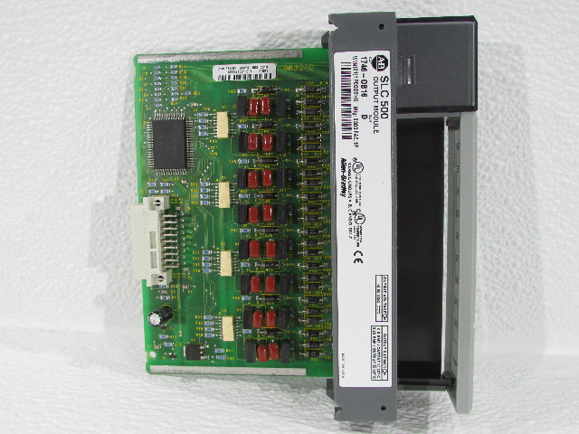 ALLEN BRADLEY 1746 0B16  OUTPUT MODULE 16POINT DIGITAL 10-50VDC