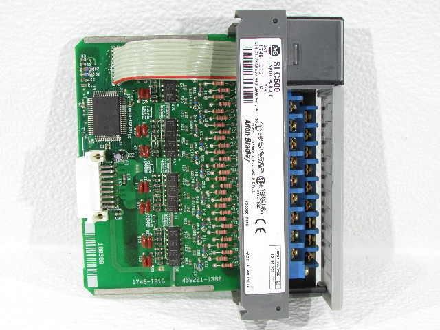ALLEN BRADLEY 1746-IB16 INPUT MODULE 16POINT DIGITAL 10/30VDC SLC500