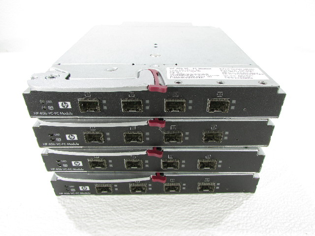LOT OF 4 HP 4GB VC-FC MODULEN P/N 409513-B21