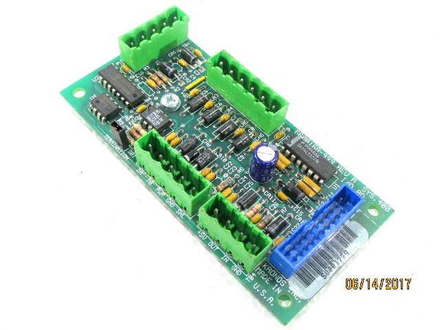 KRONOS 6600168-999 REV A SYS 400 I/O BOARD