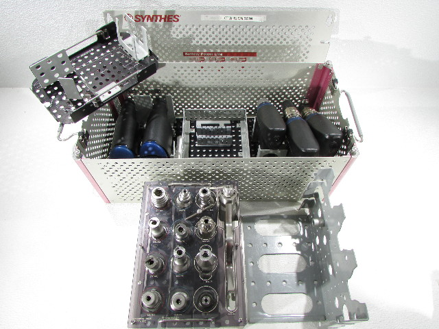 * SYNTHES BATTERY POWER LINE 23 PIECES SET