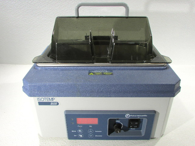 * FISHER SCIENTIFIC ISOTEMP 205 WATER BATH CAT. 15-462-5