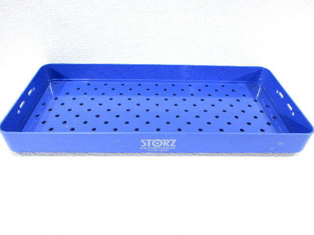 * STORZ ENDOSCOPY STERILIZATION TRAY CASE 39301H BASE ONLY