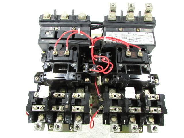 * ALLEN BRADLEY 520E-DOD SIZE 3 STARTER MULTI-SPEED 50HP 90AMP 120VAC