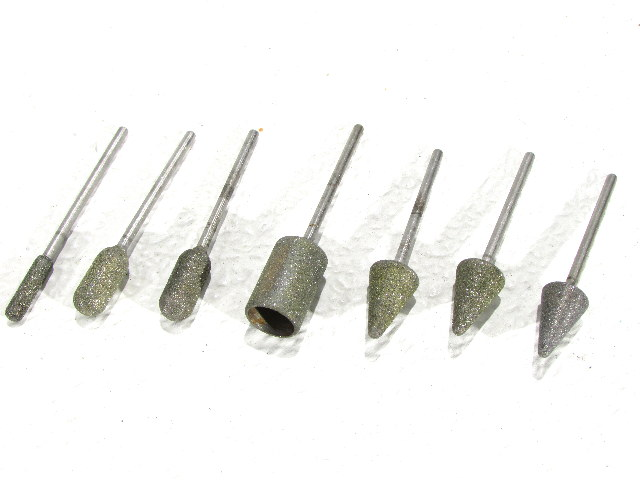 * ORTHOPEDIC SURGICAL MEDICAL DIAMOND GRINDING POLISHING BITS