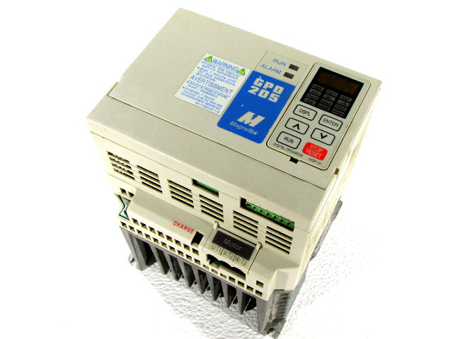 * MAGNETEK GPD 205 GPD205-B003  DRIVE MOTOR INVERTER 7AMPS 380-460V 50/60HZ 3PH *WARRANTY*