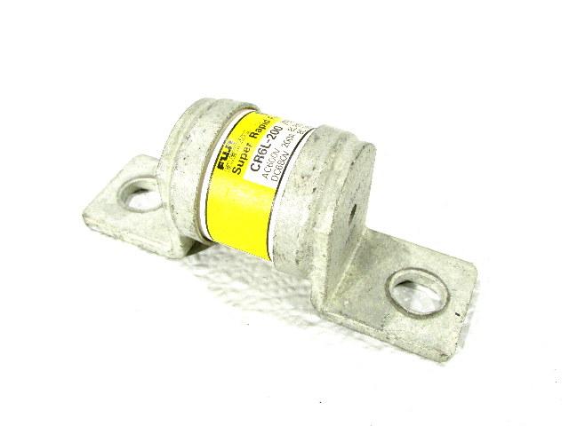 * FUJI ELECTRIC CR6L-200 /UL FUSE 200A / AC600V DC680V BC100kA BC 50kA