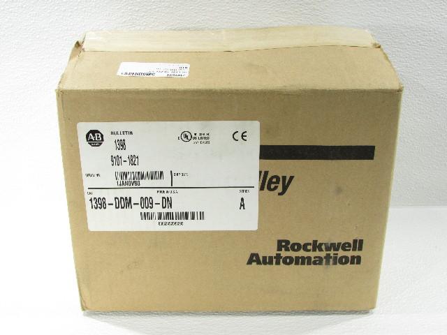 * NEW ALLEN BRADLEY 1398-DDM-009-DN SERVO DRIVE 1.5HP 1KW 15AMP 100-240VAC 1PHASE