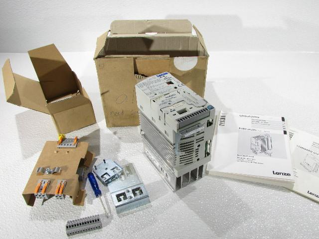 LENZE E82EV371K-2C  8200 VECTOR FREQUENCY INVERTER 5AMP 1PHASE 230/240VAC 0.37KW