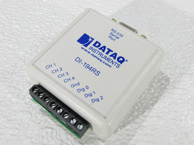 DATAQ DI-194RS RS-232 SERIAL PORT