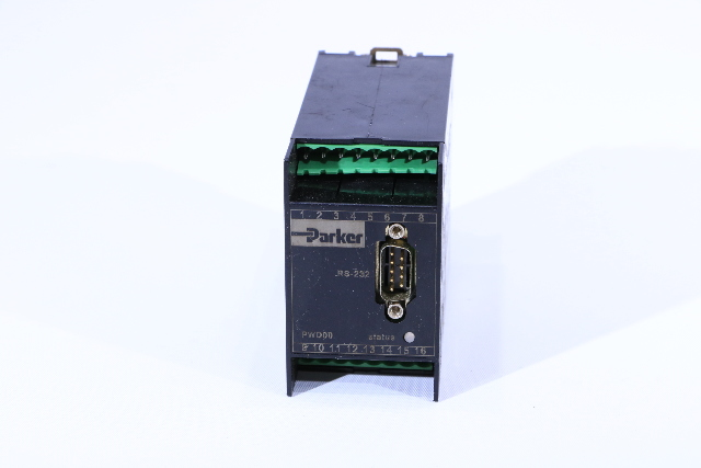 PARKER HYDRAULIC VALVE PWD00A-400-18 OPEN LOOP DRIVER MODULE