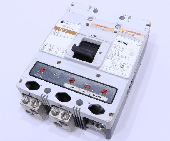 * CUTLER HAMMER HLDDC3600F 600A 600V CIRCUIT BREAKER