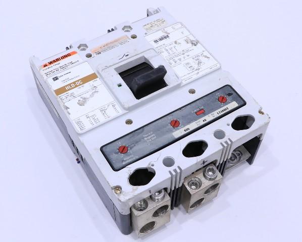 * CUTLER HAMMER HLDDC3600F 600A 600V CIRCUIT BREAKER #2