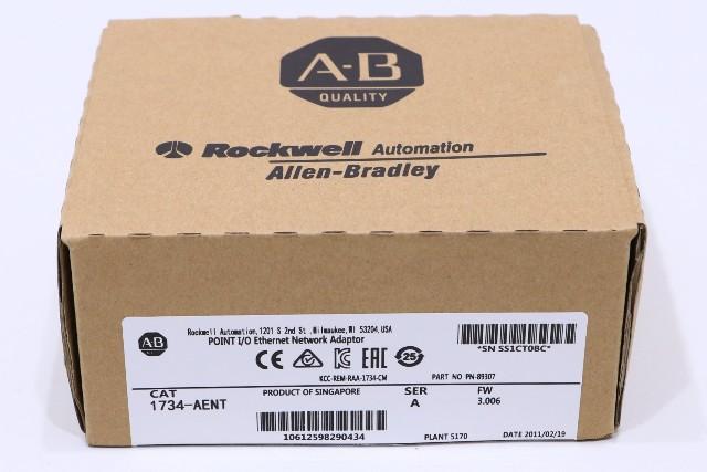 * NEW ALLEN BRADLEY 1734-AENT SER A ETHERNET IP ADAPTER MODULE