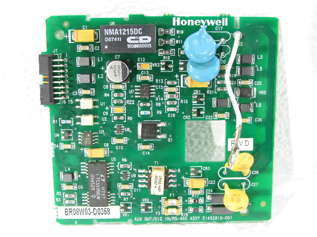 HONEYWELL 51452810-001 AUXILLIARY OUTPUT/DIGITAL INPUT CARD