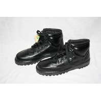 ~ Rocky Black Leather Boots size 6.5 M New