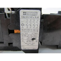 TELEMECANIQUE CONTACTOR CA2-DN140 A 65 & TRAVAIL ON DELAY 0,1-30S TIMER