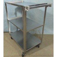 ^ Lakeside Model 311 Stainless Steel Utility Cart 32x27x16""
