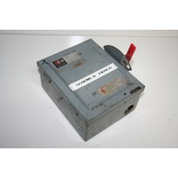 * CUTLER HAMMER 4144H441 SAFETY SWITCH 30AMP 240VAC 3POLE