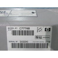 HP DESIGNJET 500 C7770B P/N C7770-60154 TOP COVER