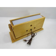 ^ MEDICAL LIGHT IN WOODEN CASE 16-1/2 x 5-3/8 x 7-1/2""