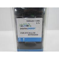 DIGITAL ENERGY 1900mAh 7.0Wh 3.7V BATTERY FOR HTC